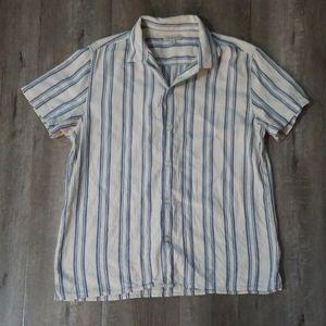 Mens Calvin Klein Jean's button down shirt